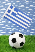 Greek soccer — Stock Photo