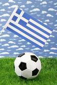 Greek soccer — Stock Photo