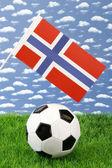Norwegian soccer — Stock Photo