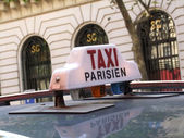 Paris Taxi — Stock Photo