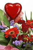 Flowers for valentines day — Stock Photo