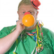 Royalty-Free Stock Photo: Clown with balloon