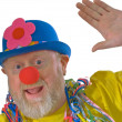 Greeting Clown — Stock Photo