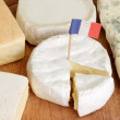 Stock Photo: Sorts of french cheese