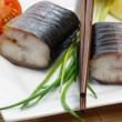 Eel Appetizer — Stock Photo