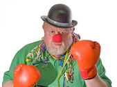 Boxing Clown — Stock Photo
