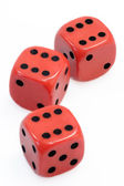 Lucky Dices — Stock Photo