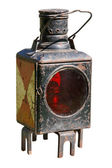 Ancient miners lamp — Stock Photo