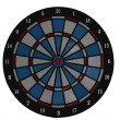 Royalty-Free Stock Photo: Dartsboard