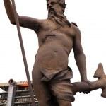 Statue of Neptune in the city centre — Stock Photo #2033202