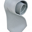 Roll of gray tie - Stock Photo
