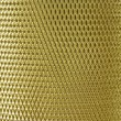Metal mesh grate gold — Stock Photo