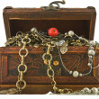 Treasure chest — Stock Photo #1619323