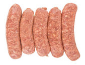 Raw pork sausages — Stock Photo