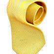 Roll of golden tie — Stock Photo #1620104