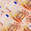 5, 10, 20, 50  Euro banknotes - Stock Photo