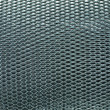 Stock Photo: Metal mesh grate