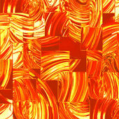 Red glass squares — Stock Photo