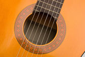 Musical instrument acoustic guitar — Stock Photo