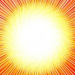 Royalty-Free Stock Photo: Sun of the curved thin lines