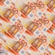 Background of the euro banknotes — Stock Photo #1633668