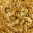 Gold metallic texture — Stock Photo