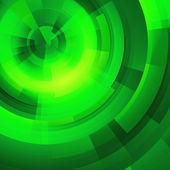 Green circles of rectangular — Stock Photo
