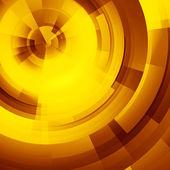 Yellow circles of rectangular — Stock Photo