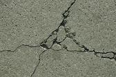 Cracks in concrete slabs — Stock Photo