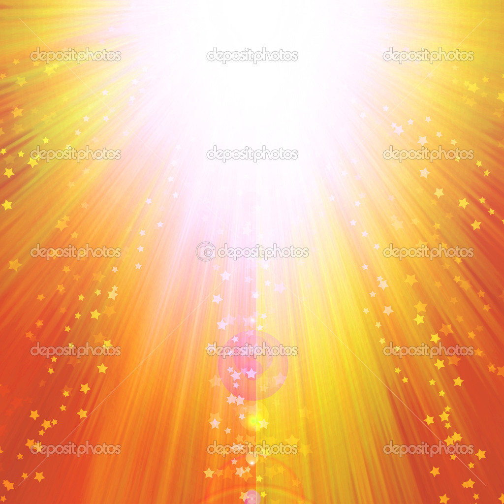 magic burst with stars and rays of light, abstract background — Stock Photo #1656448