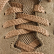 Stock Photo: Knotted shoelaces