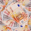 Stock Photo: 5, 10, 20, 50 Euro banknotes