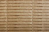 Gray corrugated cardboard — Stock Photo