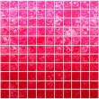 Banner of iridescent red squares — Stock Photo #1703577