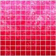 Banner of the iridescent red squares — Stock Photo