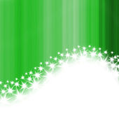 Green stripes and stars — Stock Photo