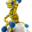 Zebra toy — Stock Photo