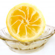 Stock Photo: Squeezed lemon