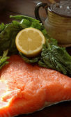 Fresh salmon filet — Stock Photo