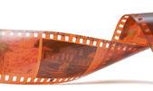 Twisted film — Stock Photo