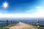 Denize mesafe 1 — Stok fotoğraf