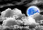 Earth in the night — Stock Photo