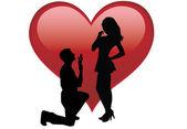 Casais amados — Foto Stock