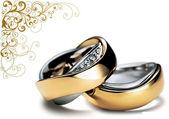 кольца — Стоковое фото