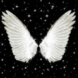 Stock Photo: Angel Wings