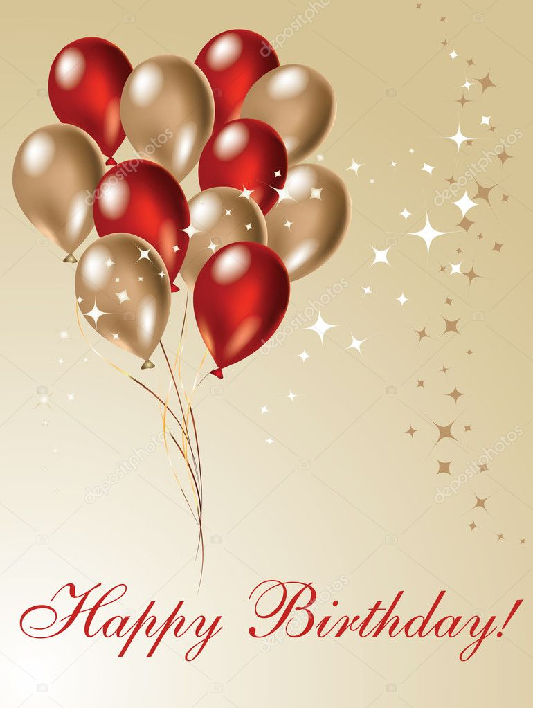 Nice picture for your birthday design decoration  Stock Photo #1731637