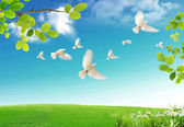 свежий весенний — Стоковое фото