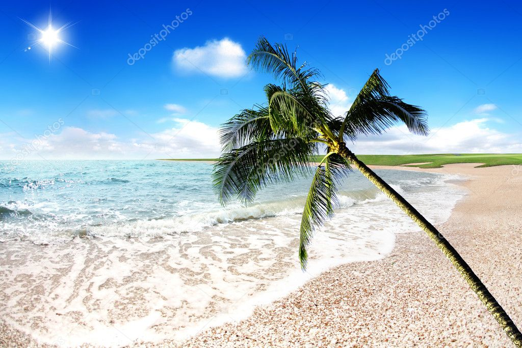 Nice place where you can go for holiday — Stock Photo #1780050