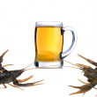Royalty-Free Stock Photo: Crabs And Beer