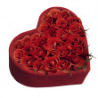 Heart and roses - Foto de Stock  